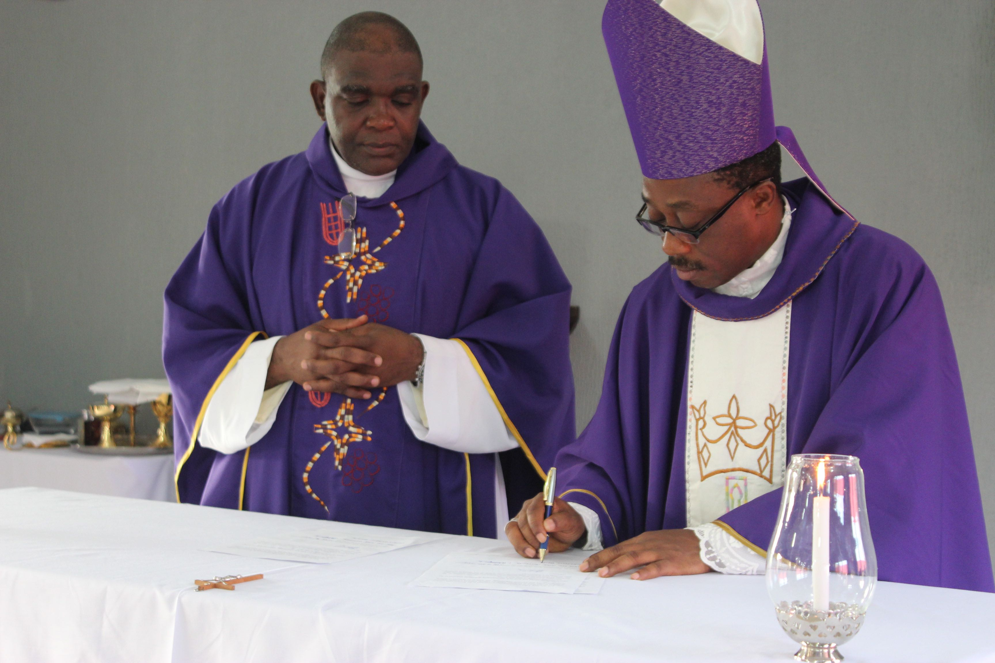 Rector's profession of faith and  Most Rev. Peter Odetoyinbo's first visit